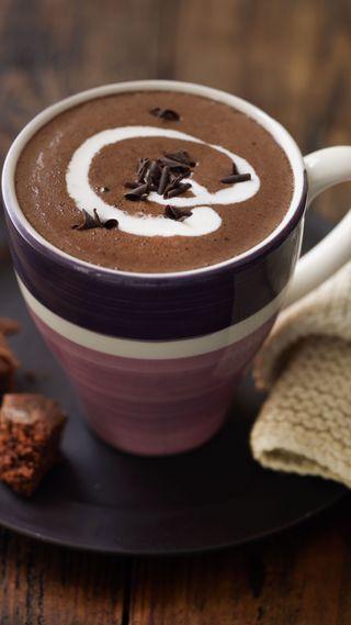 Обои на телефон шоколад, чашка, красота, кофе, cup of coffee