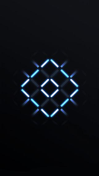 Обои на телефон электрические, квадраты, огни, дизайн, абстрактные, neons, led, 1080p