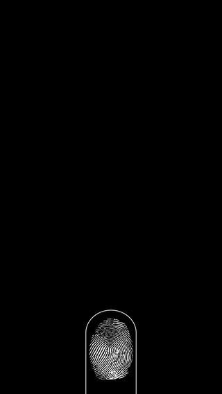 Обои на телефон черные, разблокировать, отпечаток пальца, заблокировано, блокировка, белые, 2017