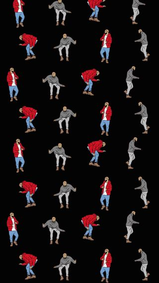 Обои на телефон рэпер, черные, танцы, подарок, дрейк, dancing gift rapper, dancing drake, cellphone