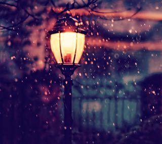 Обои на телефон тьма, свет, романтика, надежда, лампа, дождь, lamp post