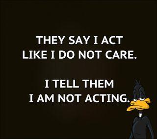 Обои на телефон забота, цитата, счастливые, реал, приятные, поговорка, новый, не, знаки, жизнь, live, i am not acting, happy