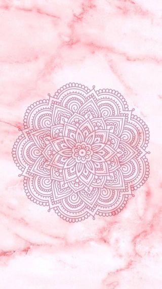 Обои на телефон мандала, симпатичные, розовые, мрамор, милые, дизайн
