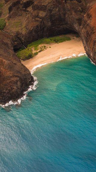 Обои на телефон океан, море, природа