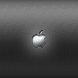 Обои на телефон эпл, стальные, металл, логотипы, карбон, волокно, mac, apple