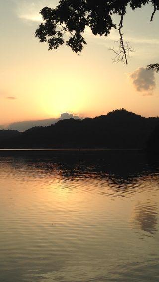 Обои на телефон джунгли, фото, река, крутые, закат, photgraph