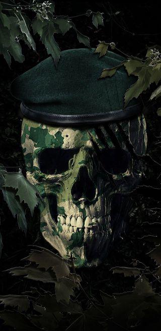 Обои на телефон армия, череп, лагерь, крутые, зеленые