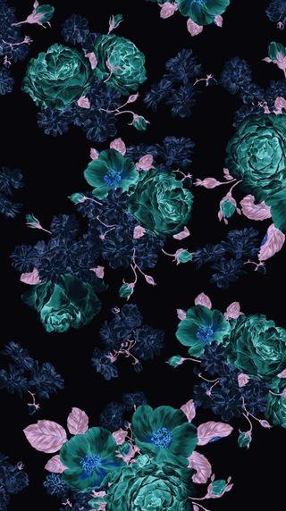 Обои на телефон iphone, tumblr, dark flowers, темные, цветы, айфон