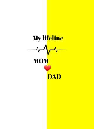 Обои на телефон отец, мама, лучшие, mom and dad