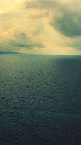 Обои на телефон океан, море, ios8, ios 8