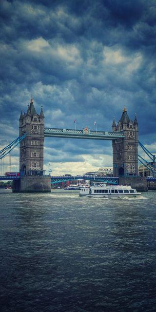 Обои на телефон лондон, синие, небо, мост, море, london bridges