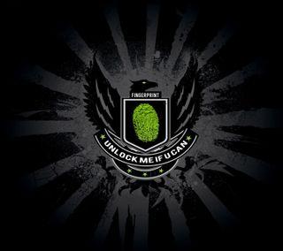 Обои на телефон палец, черные, старт, принт, отпечаток пальца, орел, логотипы, зеленые, блокировка