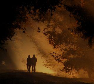 Обои на телефон вместе, счастливые, прогулка, одиночество, ночь, милые, любовь, грустные, love, happy