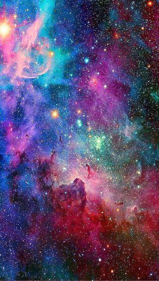 Обои на телефон красочные, галактика, galaxy