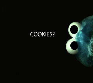 Обои на телефон monster, sesame, мультфильмы, улица, дети, печенье