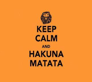 Обои на телефон спокойствие, matata, keep calm, hakuna