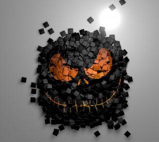 Обои на телефон дьявол, хэллоуин, лицо