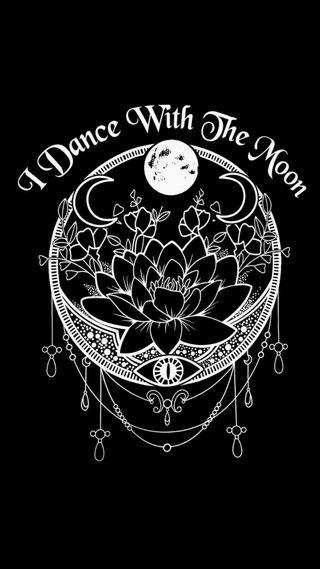 Обои на телефон мандала, черные, мотивация, мечта, луна, ведьма, белые, witchy moom, alternative