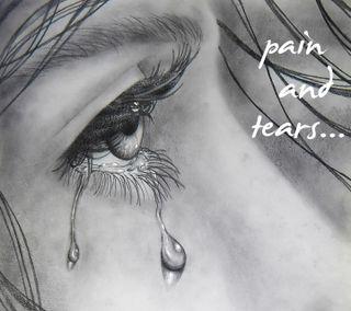 Обои на телефон слезы, боль, pain and tears, and tears