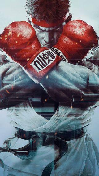 Обои на телефон улица, игра, бой, боец, street fighter