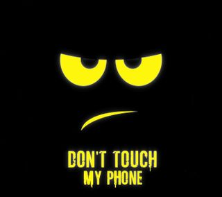 Обои на телефон трогать, телефон, не, мой