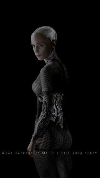 Обои на телефон женщины, робот, материал, дизайн, девушки, андроид, exmachina, android