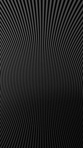 Обои на телефон полосы, черные, темные, серые, простые, линии, изогнутые, дизайн