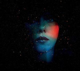 Обои на телефон губы, темные, небо, лицо, звезды, девушки, галактика, galaxy, face and dark