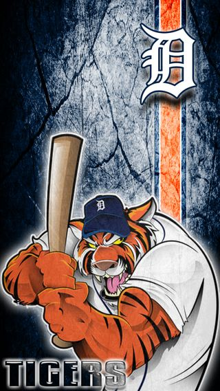 Обои на телефон тигры, бейсбол, mlb, detroit tigers