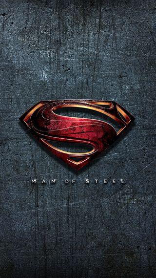 Обои на телефон фантазия, супермен, стена, стальные, логотипы, бэтмен, арт, dc, art