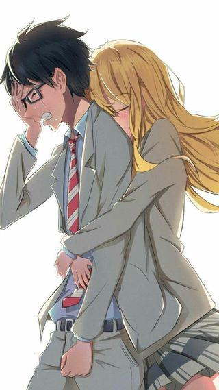 Обои на телефон школа, пары, пара, любовь, девушки, грустные, высокий, аниме, love of sadness, love, girlxboy, cry