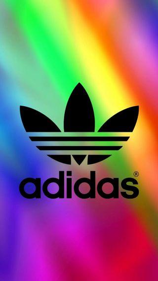 Обои на телефон официальные, оригинальные, монтаж, красочные, забавные, адидас, adidas-colorful, adidas