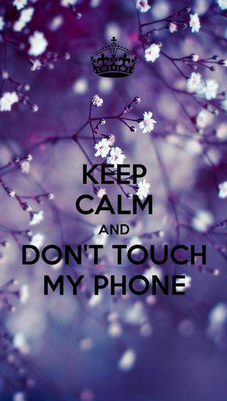 Обои на телефон трогать, спокойствие, не, телефон, keep calm