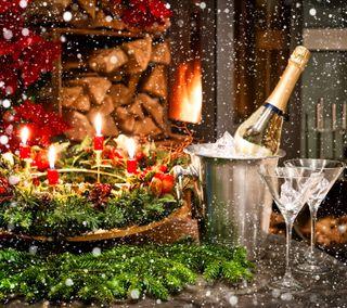 Обои на телефон празднование, сезон, рождество, приветствия, время