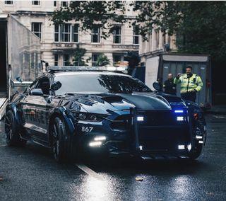Обои на телефон полиция, мустанг, форд, машины, mustang