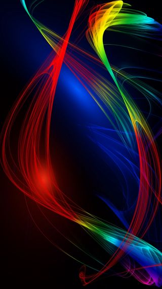 Обои на телефон чистые, премиум, ультра, темы, рыба, магия, галактика, абстрактные, wavy multicolored, note, hd, galaxy