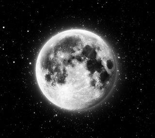 Обои на телефон черные, темные, луна, космос, абстрактные, the moon