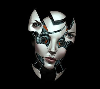 Обои на телефон конепт, робот, женщина, девушки, будущее, арт, андроид, абстрактные, vision, artificial, art, android