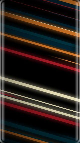 Обои на телефон полосы, красочные, грани, абстрактные, s7
