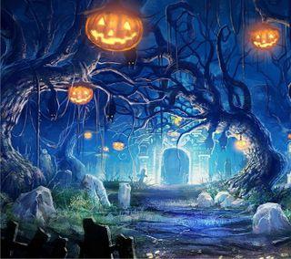 Обои на телефон демон, хэллоуин, призрак, октябрь, конфеты, graveyard, ghost