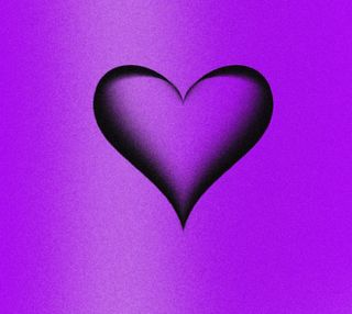 Обои на телефон фиолетовые, сердце, любовь, день, 2160x1920px, purple heart, love