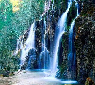 Обои на телефон водопад, -------------