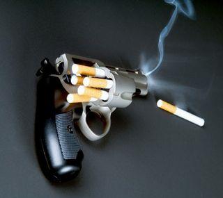 Обои на телефон сигареты, оружие, мертвый, выстрел