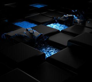 Обои на телефон формы, кубы, технологии, клавиатура, квадраты, арт, абстрактные, hd, art