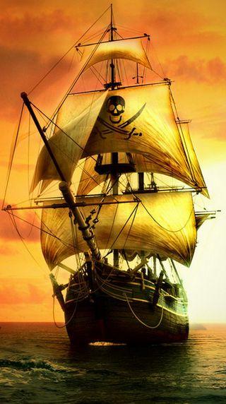 Обои на телефон пираты, парусные, корабли, pirate sail