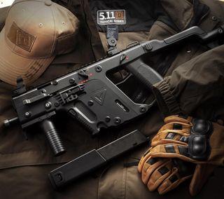 Обои на телефон винтовка, векторные, оружие, kriss vector