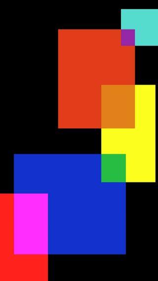 Обои на телефон геометрические, черные, синие, красые, абстракция