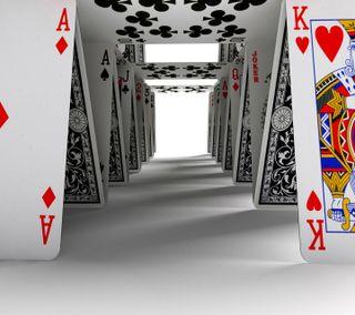 Обои на телефон карты, дом, house of cards