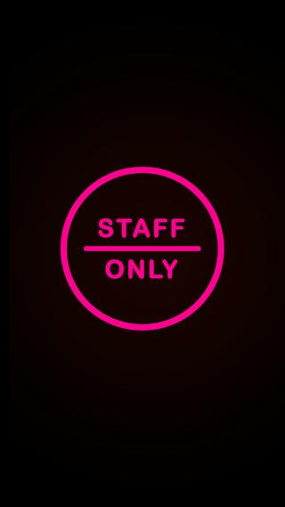 Обои на телефон домашний экран, экран блокировки, дизайн, staff_only_pinkneon