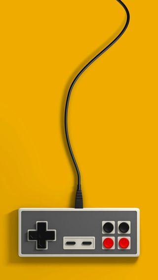 Обои на телефон электрические, провод, коробка, кнопка, желтые
